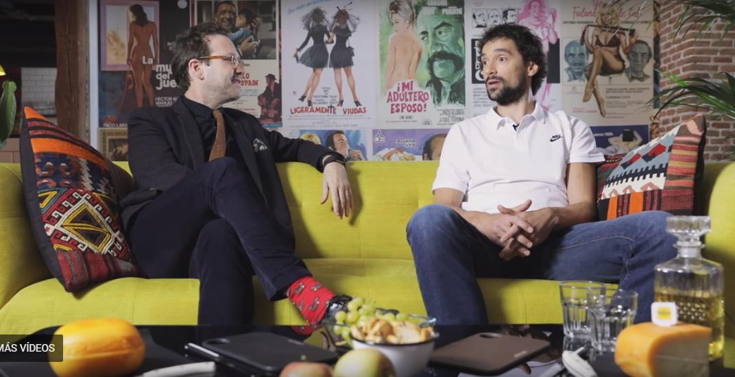 """Entrevista al antiguo alumno Sergi Llull en el programa """"Reyes en la cocina"""""""
