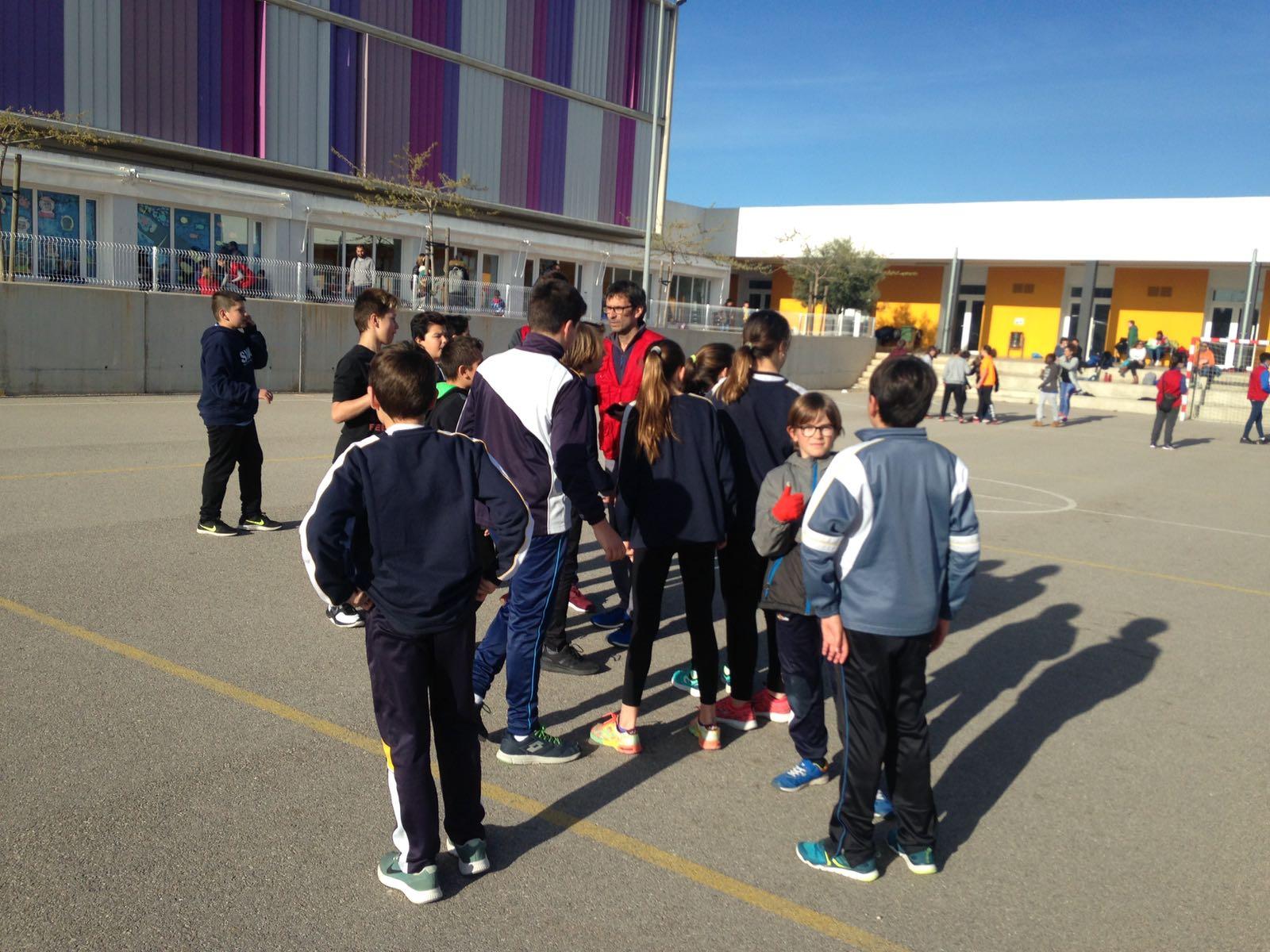 Modalidades deportivas con los alumnos de 5º y 6º