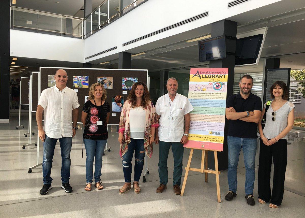Exposicio AlegrArt a l'Hospital General Mateu Orfila