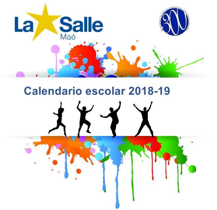Calendari del curs escolar 2018-19
