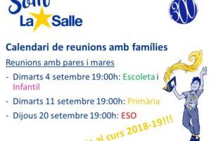 calendari reunions 18-19