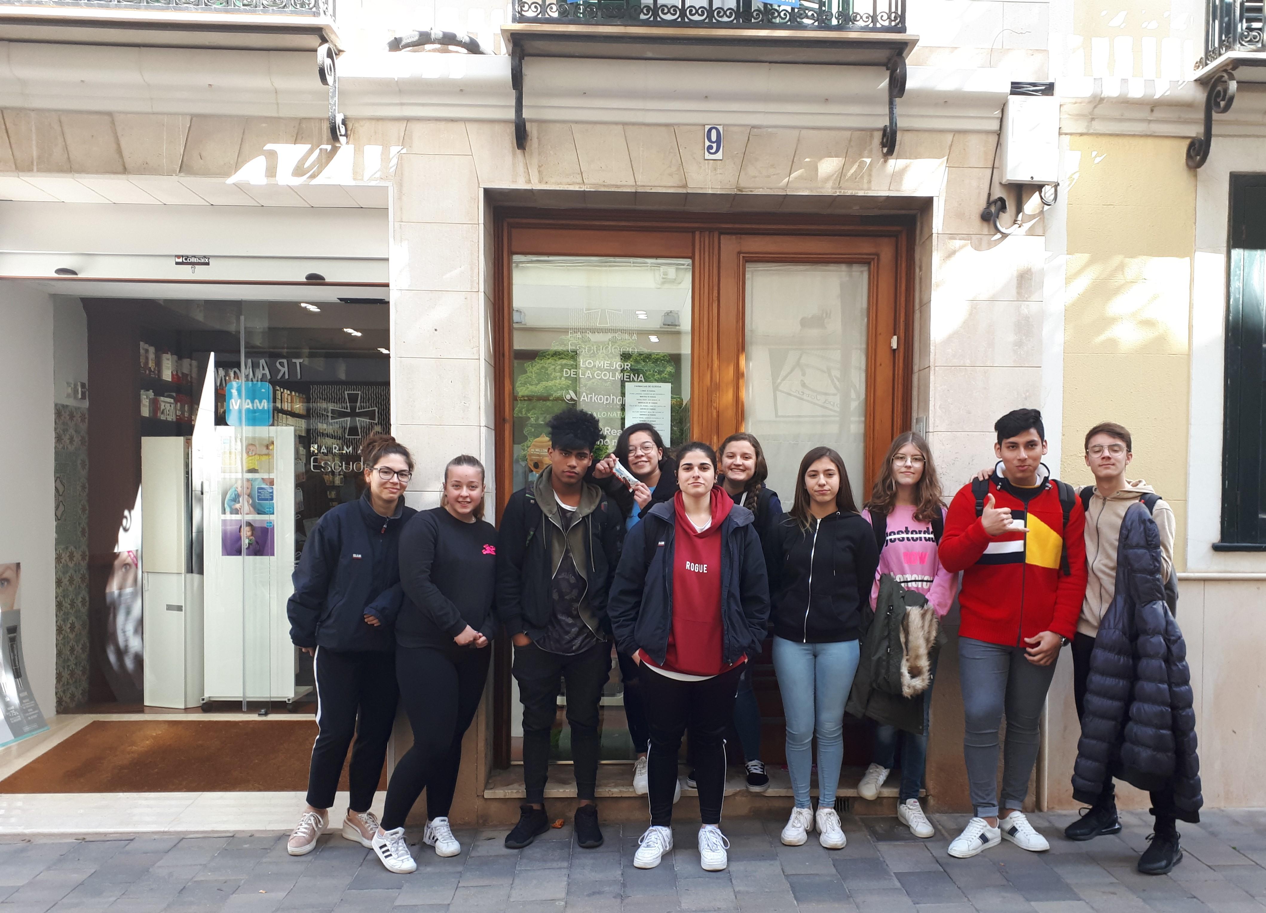 Alumnes de 4t realitzen un projecte de visites a empreses