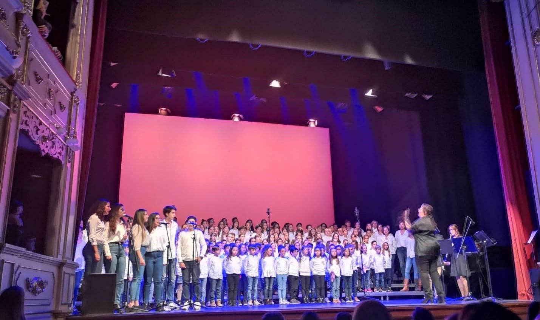 La Salle Maó viatja en el temps en el concert del 300 aniversari