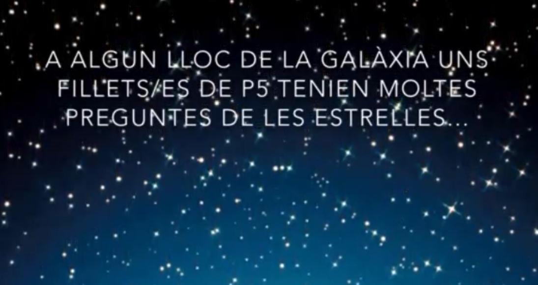 Projecte video les estrelles