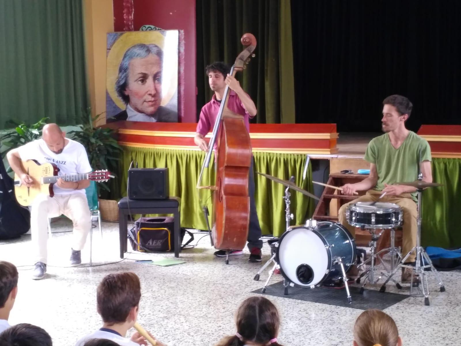 El Jazz entra a l'escola
