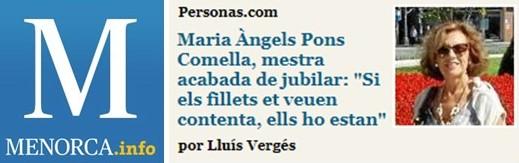 Article jubilació Àngels Pons