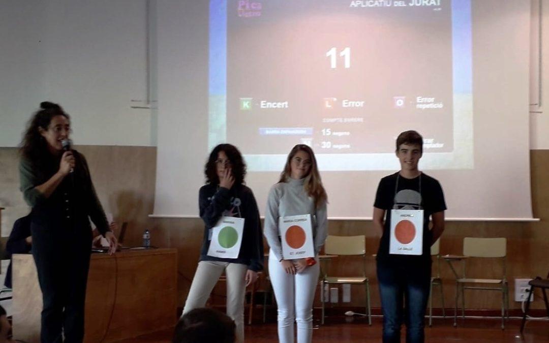 """Andreu, finalista del concurs """"Lletres i mots"""" 2019"""