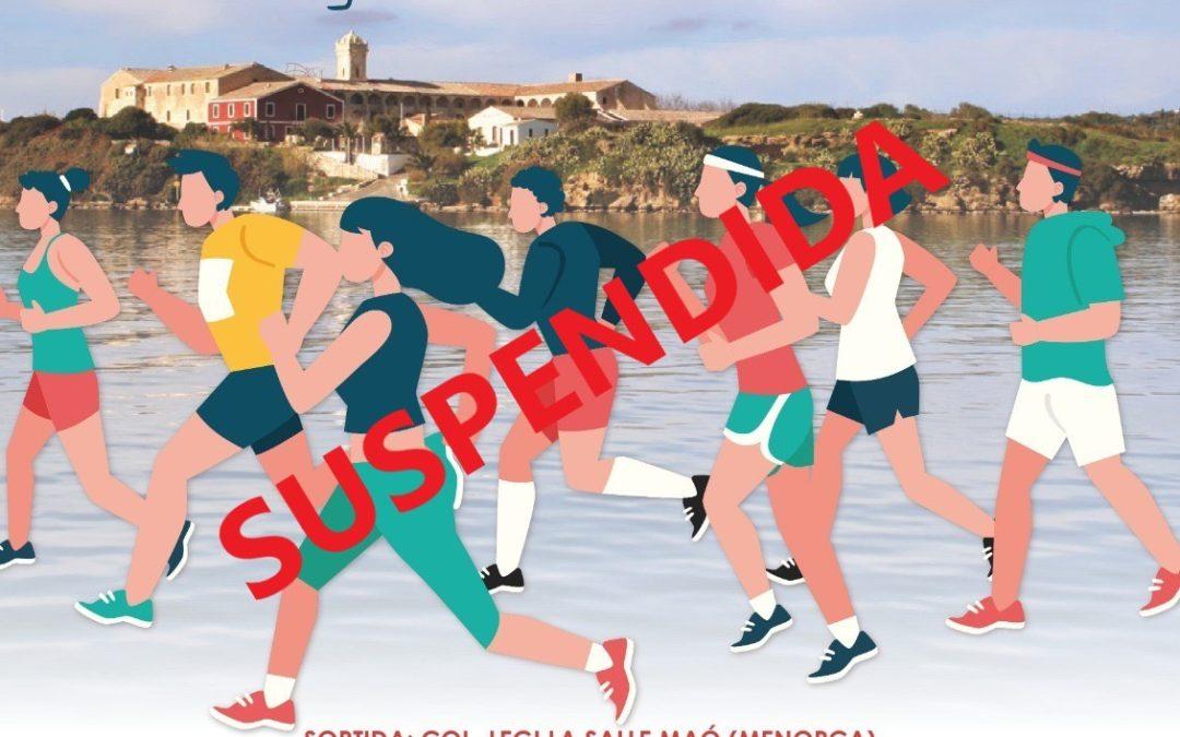 URGENT! 8ª cursa solidària SUSPESA!