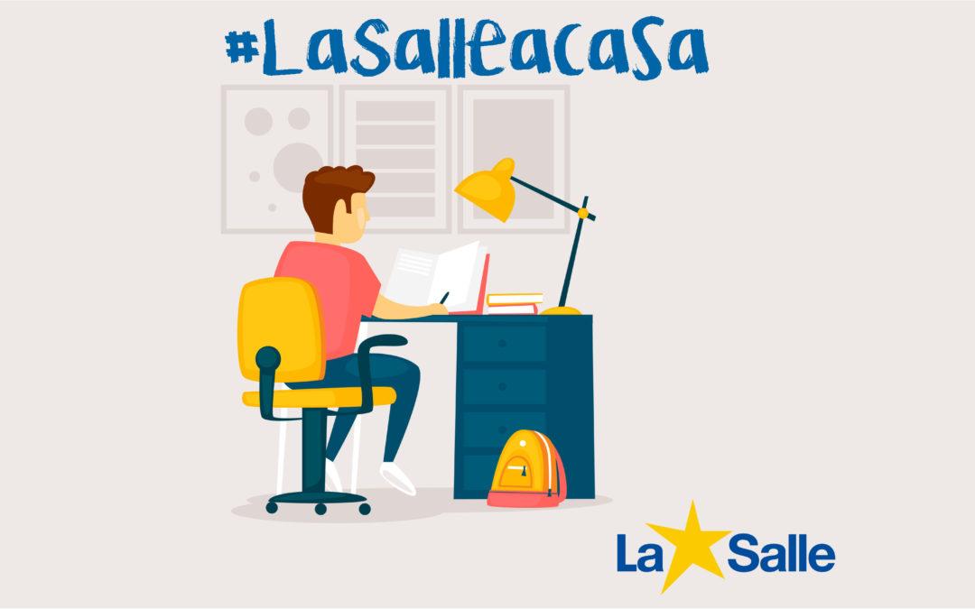 #LaSalleEnCasa: La Salle acuerda un protocolo de actuación.