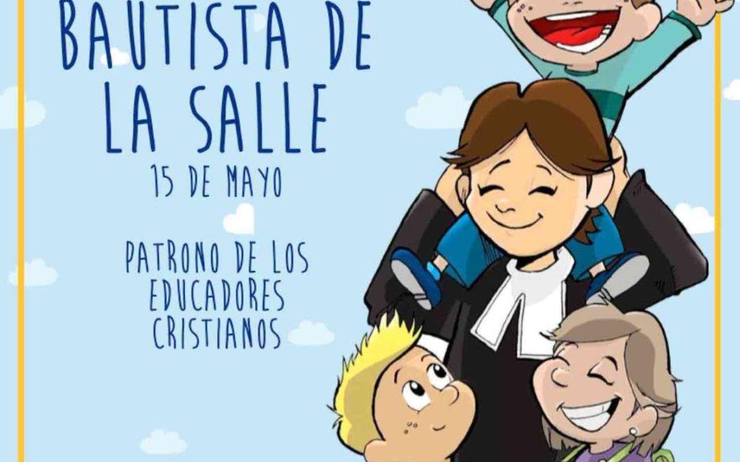 Alumnes, famílies i educadors celebram el Dia de La Salle