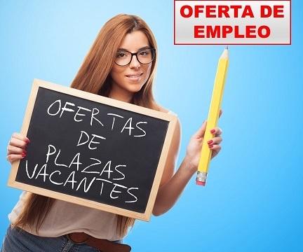 Oferta de trabajo noviembre 2020