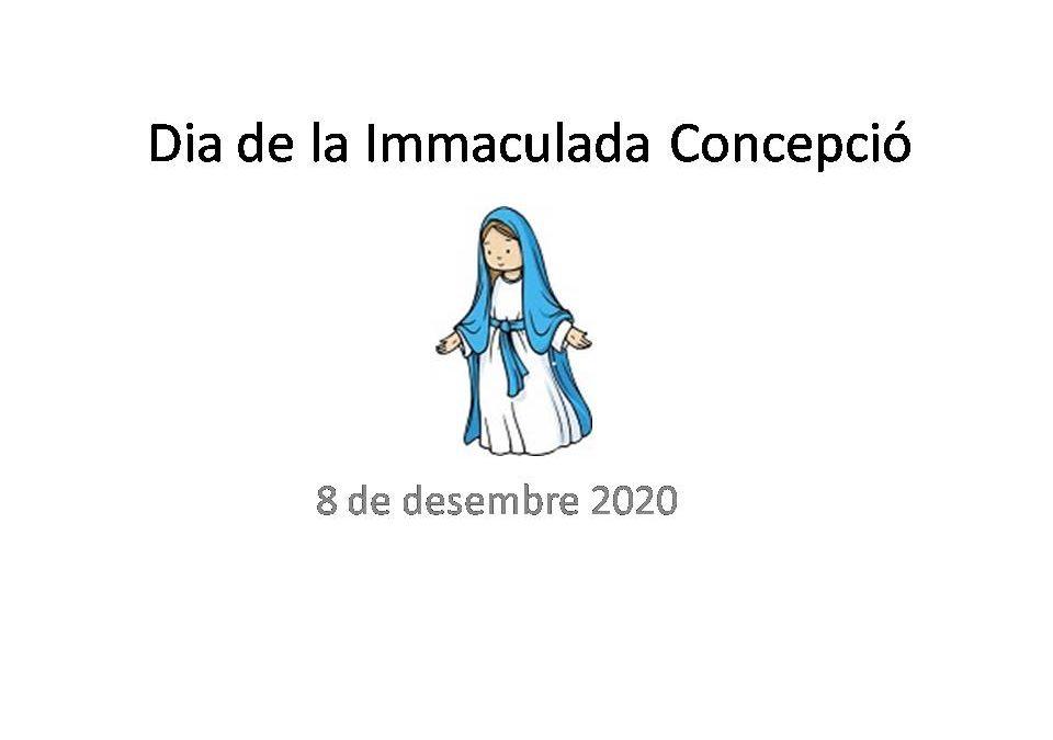 CELEBRACIÓ DE LA INMACULADA A CASA