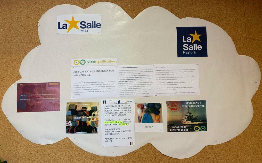 La Salle Maó participa en el Projecte Abriga